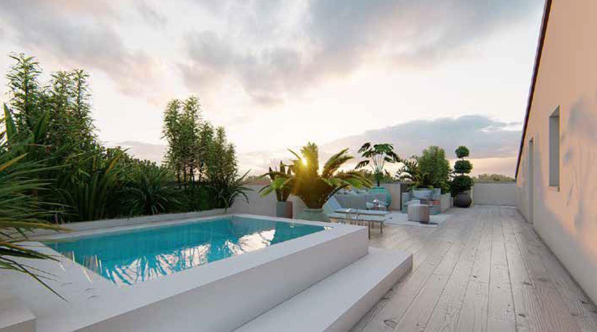 Limena 3 camere con giardino o terrazzo